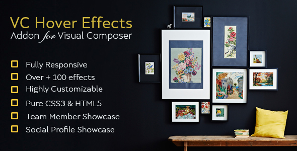 CodeCanyon Image Hover Effect Addon For Visual Composer 21060533