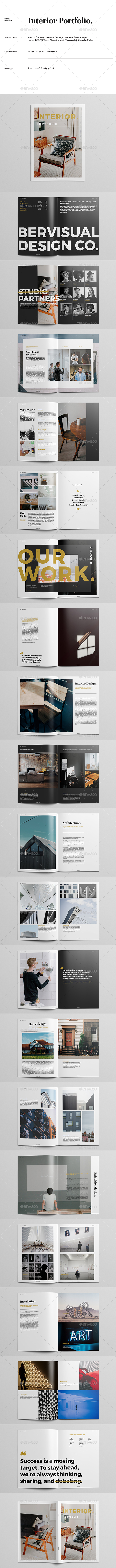 GraphicRiver Interior Portfolio 21060668