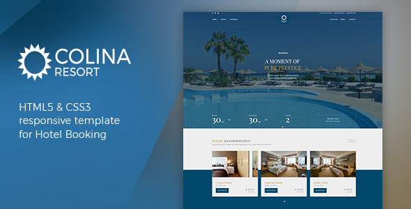 ThemeForest Colina Hotel Website Template 20977257