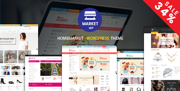 HomeMarket - eCommerce WP Theme for WooCommerce
