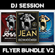 DJ Session Flyer Bundle V2 - GraphicRiver Item for Sale