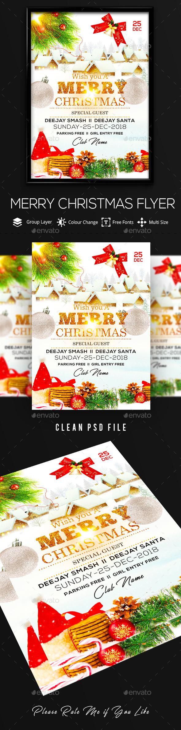 GraphicRiver Christmas Flyer 21061098