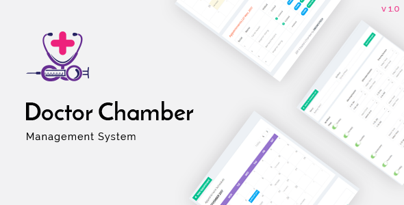 CodeCanyon Doctor Chamber Management System 21061156