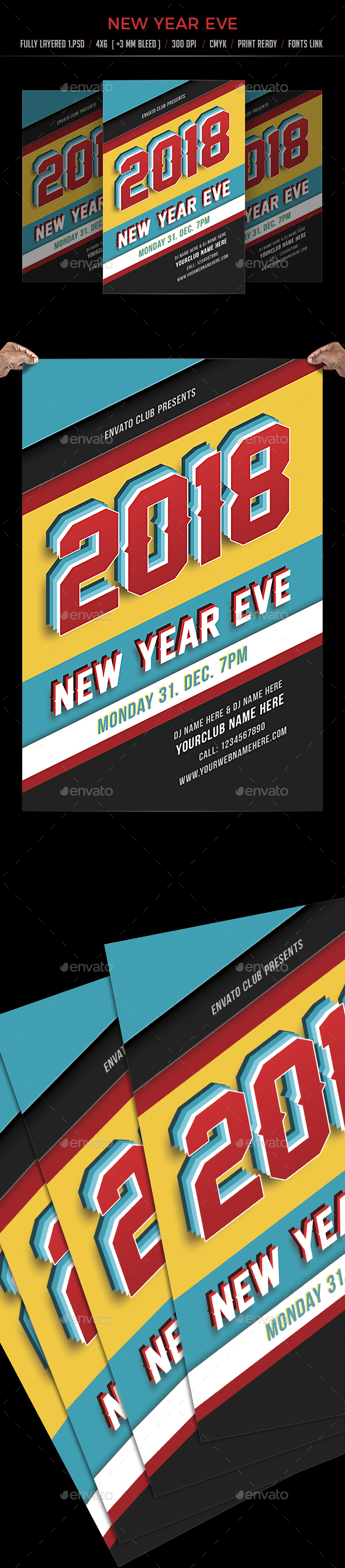 GraphicRiver New Year 21061202