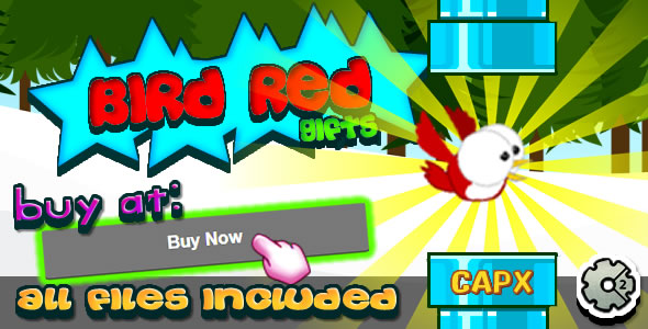 Download Bird Red - Gifts - (CAPX+HTML)