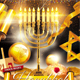 Hanukkah Holiday Tradition Flyer - GraphicRiver Item for Sale