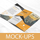 Tri Fold Brochure Mock-Ups