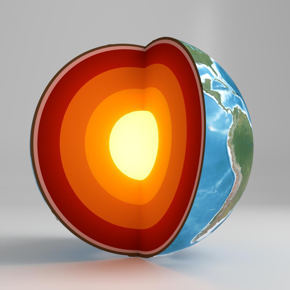 Earth cross section by Klockwork_Studios | 3DOcean