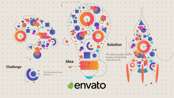VideoHive Challenge And Solution Logo 21061350