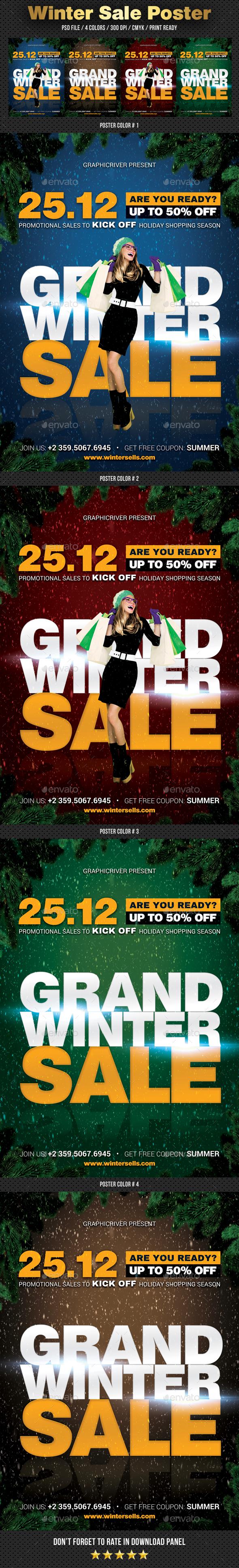 Sale Poster - Signage Print Templates