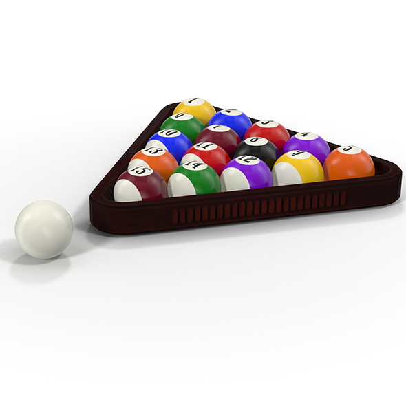 Pool Balls - 3DOcean Item for Sale