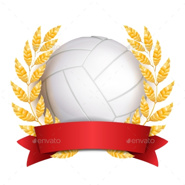 GraphicRiver Volleyball Award Vector 21061696