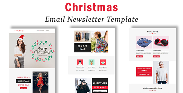 Christmas - Responsive Email Template with Stampready Builder Access