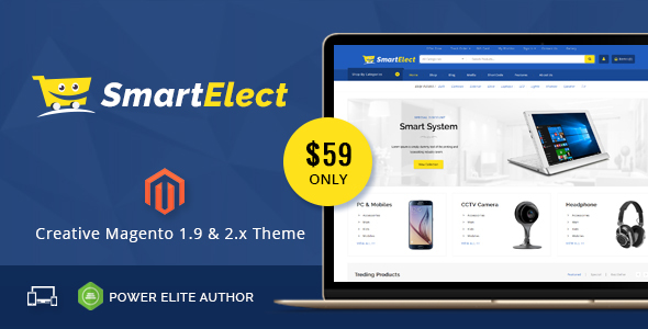 SmartElect - Responsive Magento 1 & 2 Theme - Shopping Magento