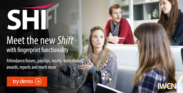CodeCanyon Biometric Shift Employee Management System 21061908