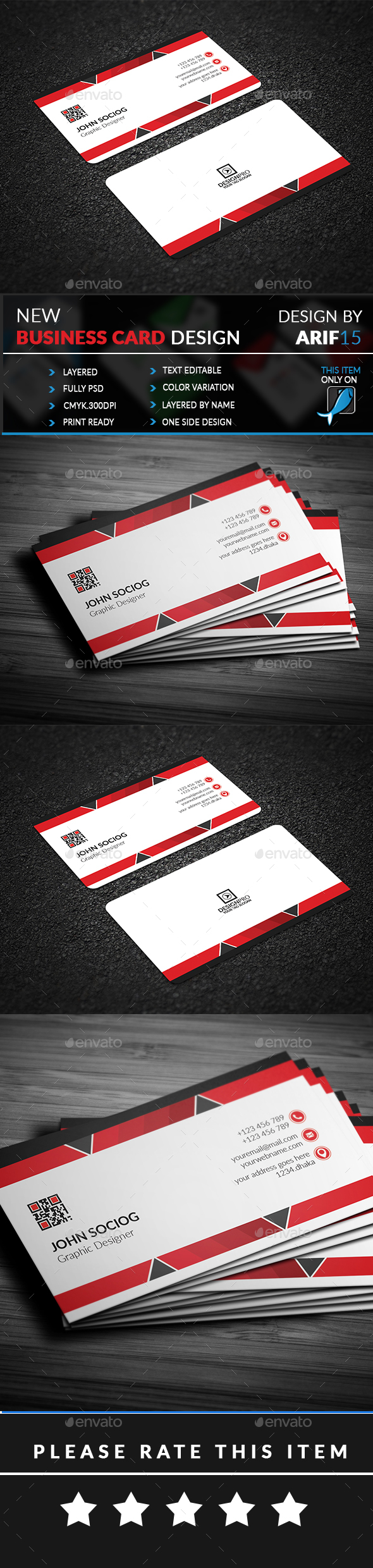 GraphicRiver Business Card 21062123