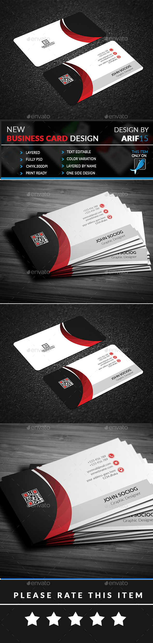 GraphicRiver Business Card 21062140
