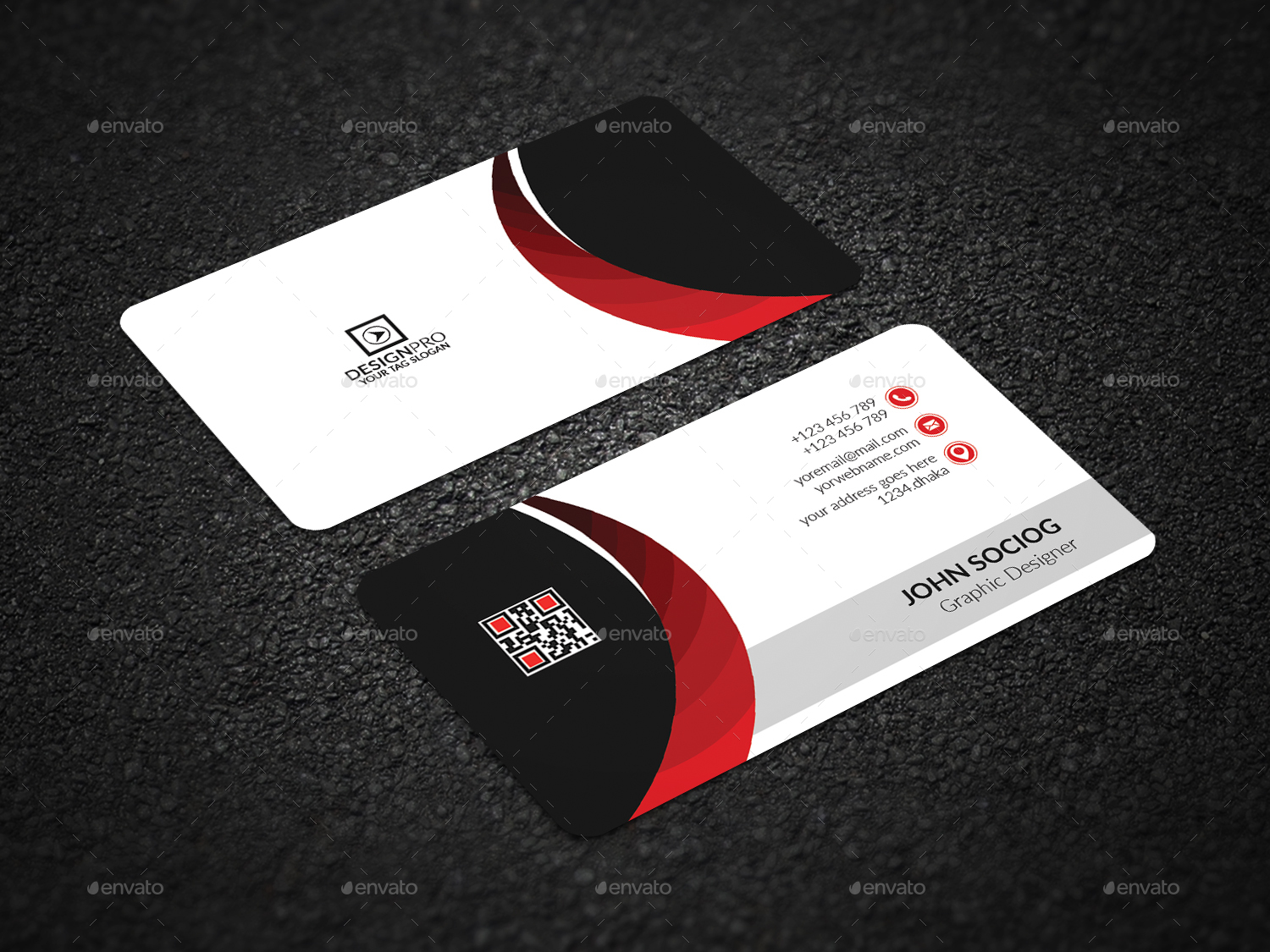 Business Card by AI_DESIGN | GraphicRiver