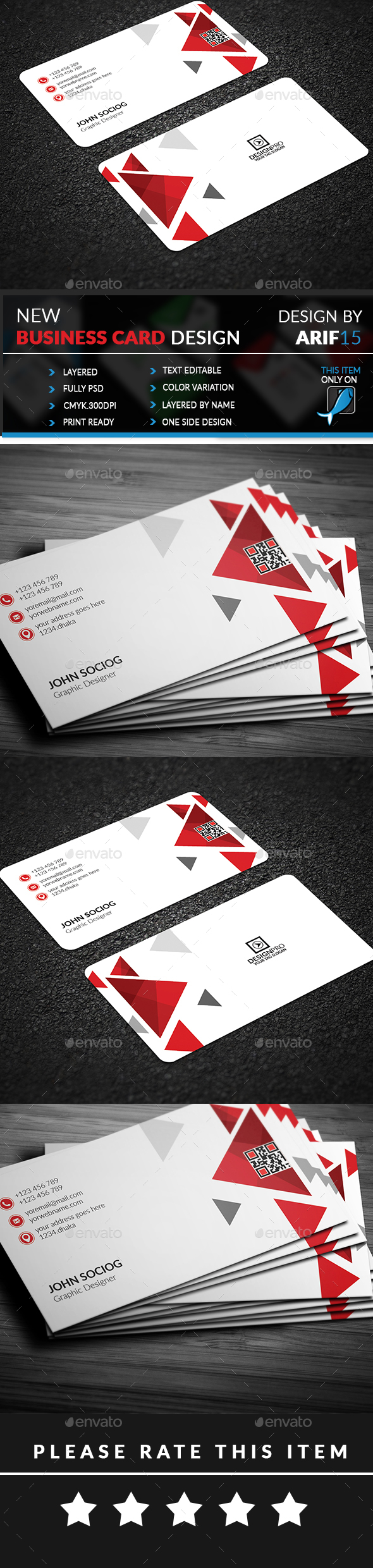GraphicRiver Creative Business Card 21062159