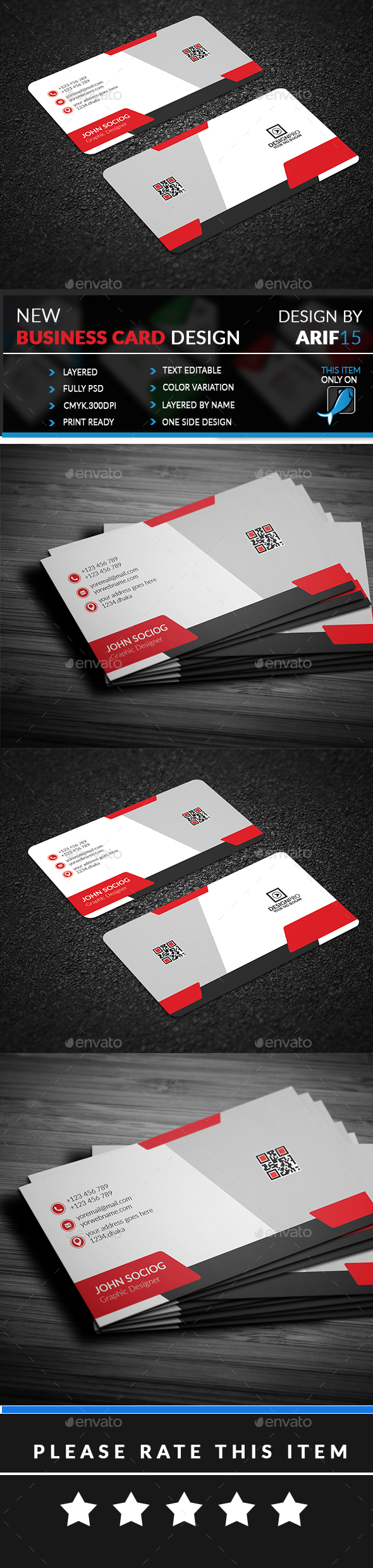 GraphicRiver Creative Business Card 21062169
