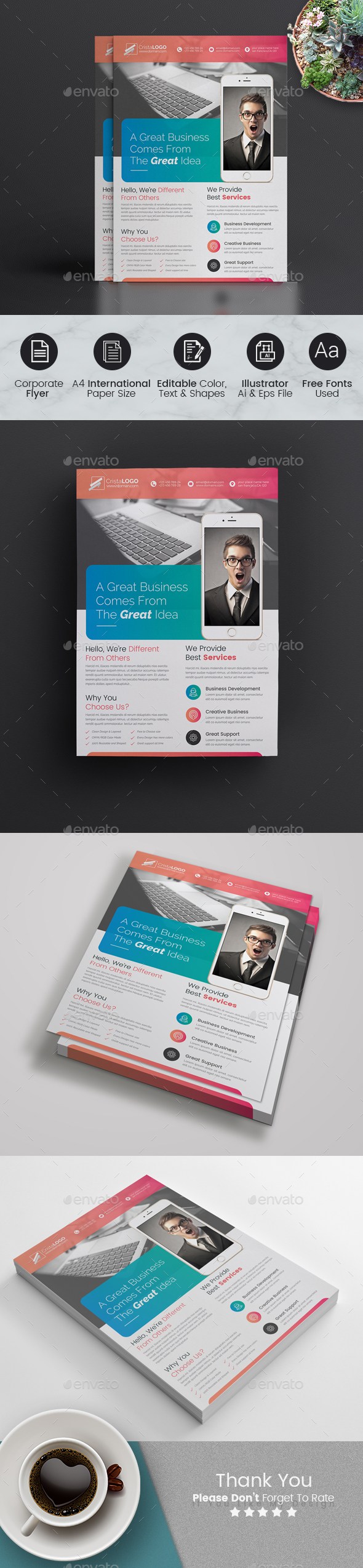 GraphicRiver Flyer Template 21062281