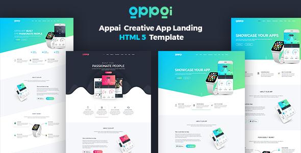 APPAI App Landing Page