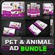 Pet Care Advertising Bundle Vol.1
