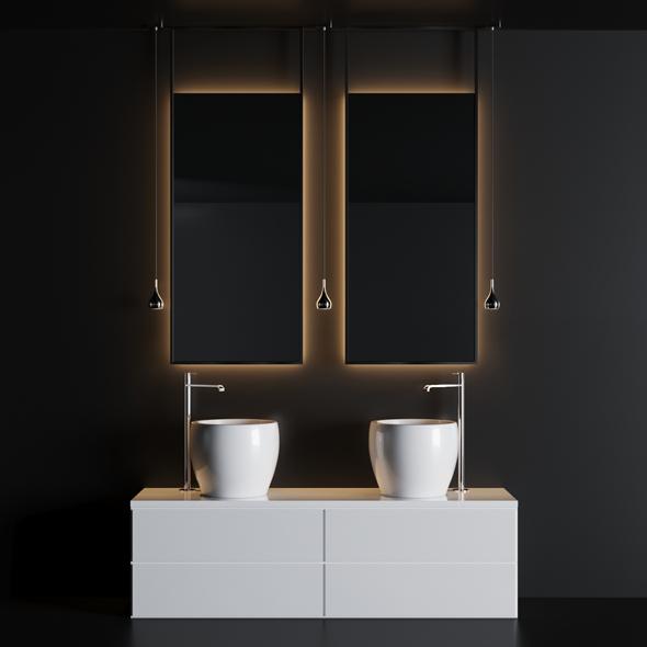3DOcean Bath Set 1 21062381