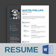 Resume Template - Martin