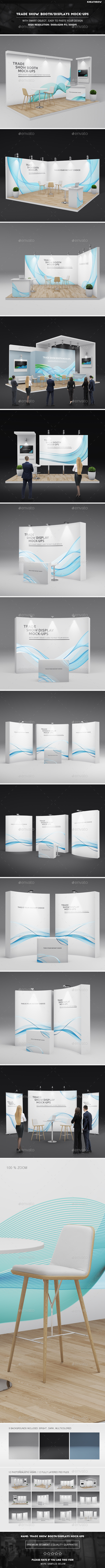 GraphicRiver Trade Show Booth Displays Mock-Ups 21061891