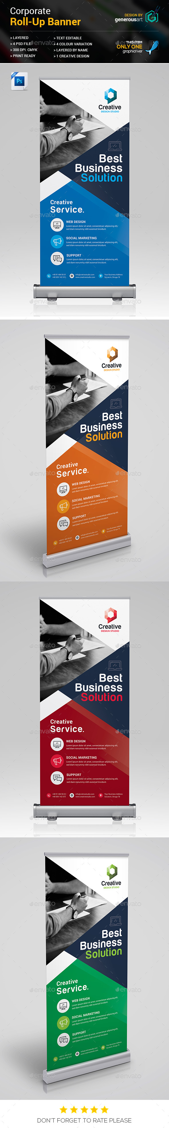 GraphicRiver Roll-Up Banner 21062679