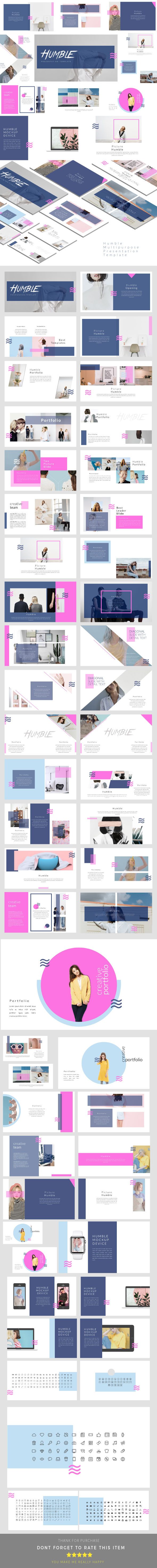 Humble - Multipurpose Presentation Templates - PowerPoint Templates Presentation Templates