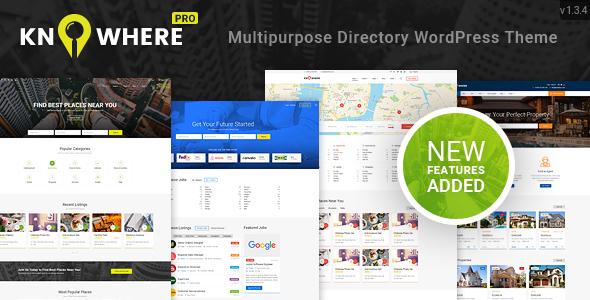 Image of Knowhere Pro - Multipurpose Directory WordPress Theme
