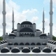 Aerial View of Mosque - VideoHive Item for Sale