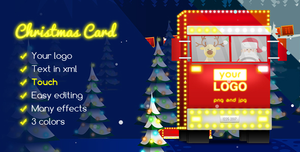 Download Christmas Card Delivery of Gifts