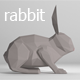 Low Poly Rabbit - 3DOcean Item for Sale