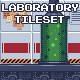 Laboratory Pixel Art Tileset - GraphicRiver Item for Sale