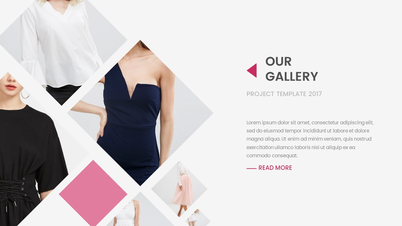 Movic Clothing And Fashion Keynote Template By Bluestack