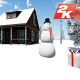 Snowman and Christmas Snowy  - VideoHive Item for Sale