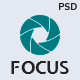 Focus — Photographer portfolio PSD Template