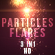 Particles Flares