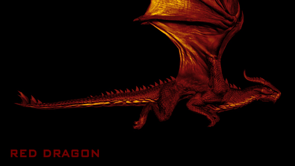 VideoHive Red Dragon 21066907
