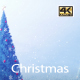 Christmas Tree Blue 4K - VideoHive Item for Sale