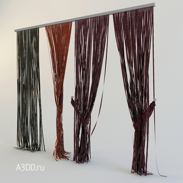 Curtains rope Kisea - 3DOcean Item for Sale