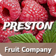 Preston | Fruit Company & Organic Farming - ThemeForest Item for Sale