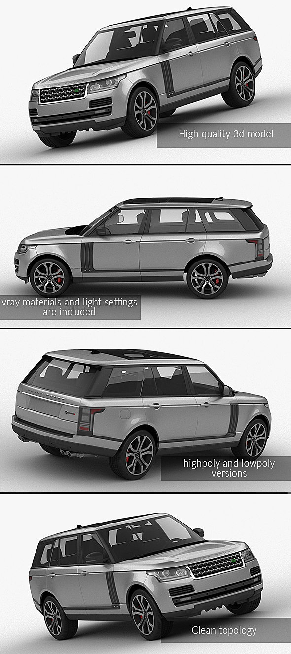 3DOcean Range Rover SVAutobiography Dynamic 2017 21067158