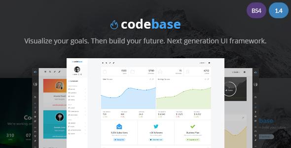 Codebase - Bootstrap 4 Admin Dashboard Template