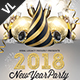 New Year Party Poster / Flyer V17 - GraphicRiver Item for Sale