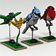 Lego bird pack - 3DOcean Item for Sale