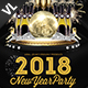 New Year Party Poster / Flyer V10 - GraphicRiver Item for Sale